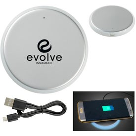 Silverback Round Wireless Charging Pad