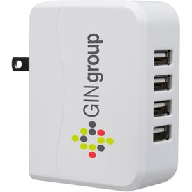 UL Listed USB Multi Port Wall Charger (4900 mAh, UL Listed)