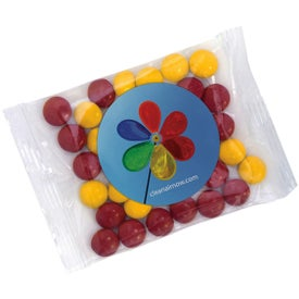 Goody Bag with Chocolate Buttons (1 Oz.)
