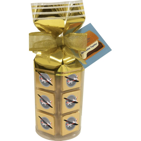 Gold 36 Piece Chocolate Gift Bag