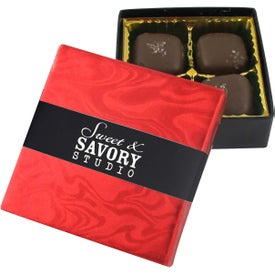 4 Piece Sea Salt Caramel Gift Boxes