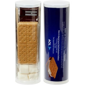 Campfire S'mores Kit Tube