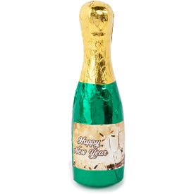 Champagne Bottle Popping Chocolate