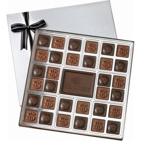 Custom Chocolate Squares Gift Box (14.75