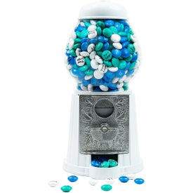 Dispenser with Logo Personalized M&M's