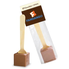 Hot Chocolate on a Spoon in Header Bag
