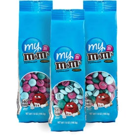 Logo Personalized M&M's Bags Triple Pack