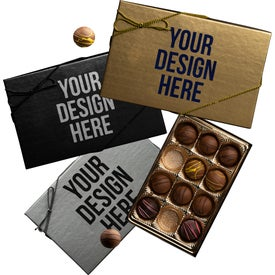 Truffle Gift Box with 12 Truffles