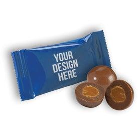 Wrapped Caramel Chocolate Bites
