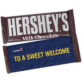 Wrapped Hershey's Chocolate Bar (1.55 Oz.)