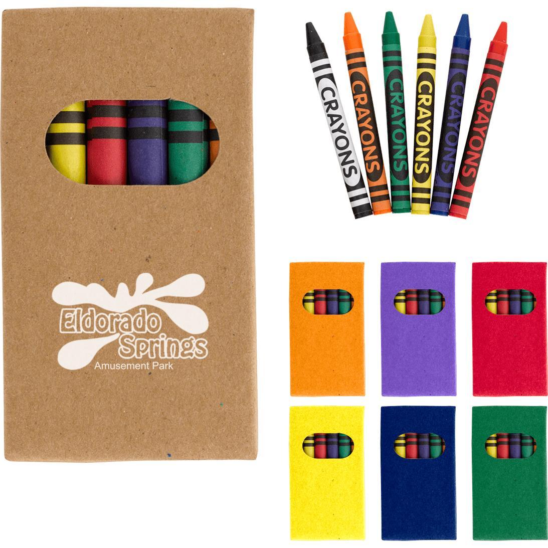 6 Piece Crayon Set