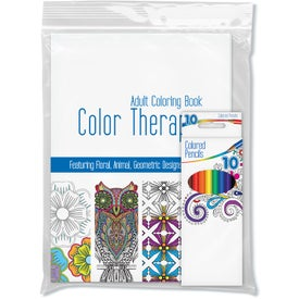 Color Therapy Adult Coloring Pack (24 Sheets)