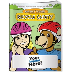 Barkley Teaches Bicycle Safety Coloring Book (10 Sheets)
