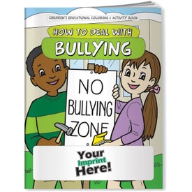 How to Deal with Bullying Coloring Book (10 Sheets)