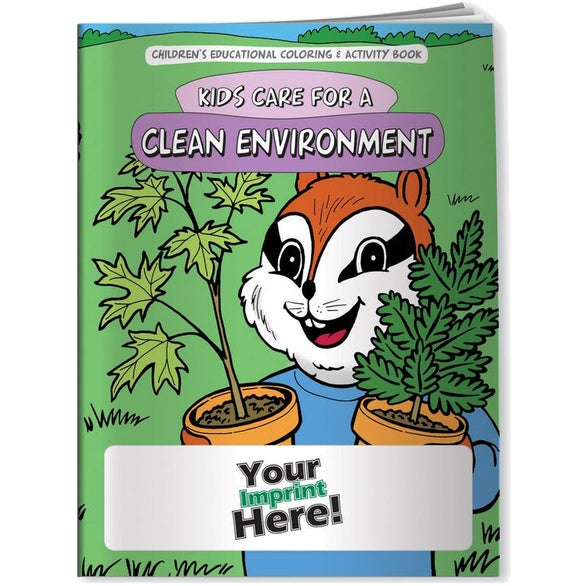 See Item Kids Care for a Clean Environment Coloring Book