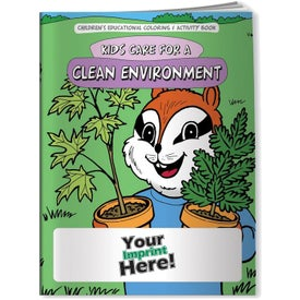 Kids Care for a Clean Environment Coloring Book (10 Sheets)