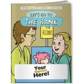 Let's Go to the Bank Coloring Book (10 Sheets)