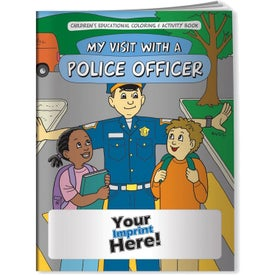 My Visit with a Police Officer Coloring Book (10 Sheets)
