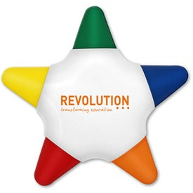 Crayo-Star Five Color Star Crayon