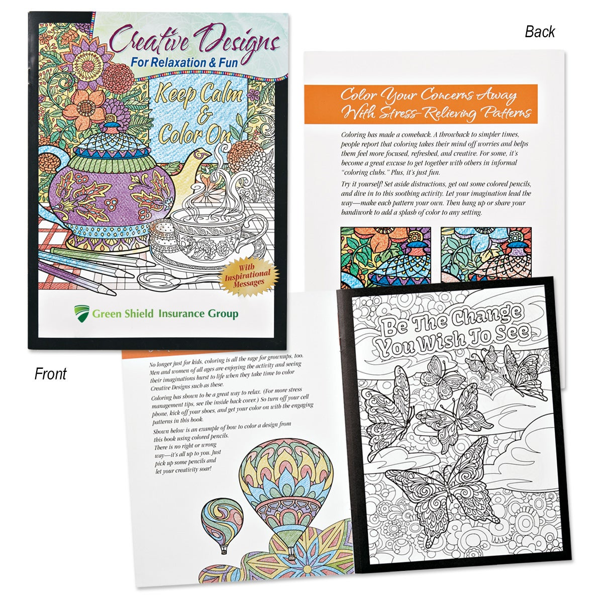Creative Designs For Relaxation And Fun Adult Coloring