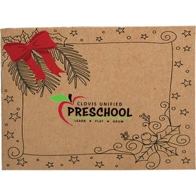 Holiday Kids Color Book and 6 Color Pencil Set