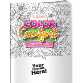 Hues of Healing Adult Coloring Book (Breast Cancer Awareness)