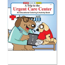 Urgent Care Center Coloring and Activity Books (16 Sheets, Ink Imprint)