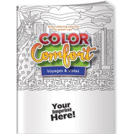 U.S. Landmarks Adult Coloring Book (12 Sheets)