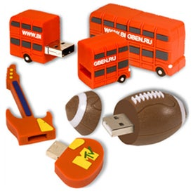Advertising 3-D USB Flexi-Drive 2.0 -
