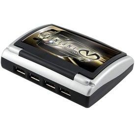 Imprinted 4-Port Hi-Speed USB 2.0 Hub