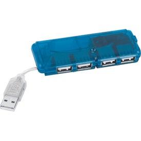Logo 4-Port USB Hub