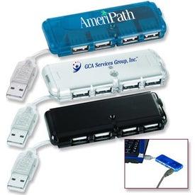 4-Port USB Hub for Advertising