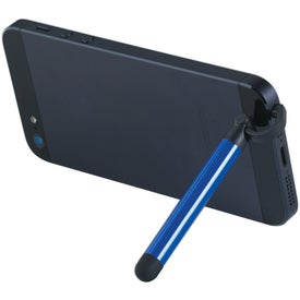 Aluminum Stylus and Phone Stand with Your Slogan