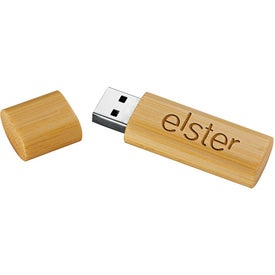 Bamboo USB Flash Drive V.2.0 Printed with Your Logo