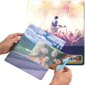Personalized BIC Photo Sleeve Mouse Pad