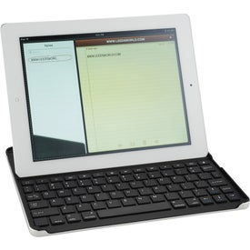 Personalized Bluetooth Keyboard Aluminum Case for iPad 2/3/4