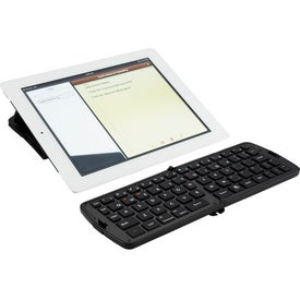 Imprinted Bluetooth Folding Keyboard
