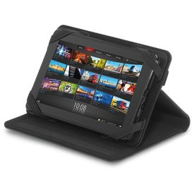 """Company Brookstone 7"""" Leather Tablet Stand"""
