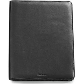Personalized Brookstone Leather iPad Stand