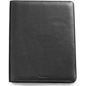 Personalized Brookstone Leather iPad Stand