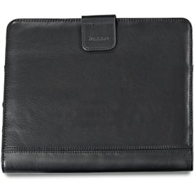 Brookstone Leather iPad Stand with Sleeve for Customization