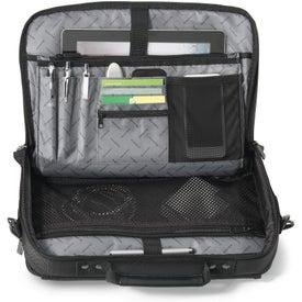 "Custom Brookstone Slim 13"" Computer Messenger Bag"