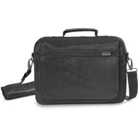 "Brookstone Slim 13"" Computer Messenger Bag with Your Logo"