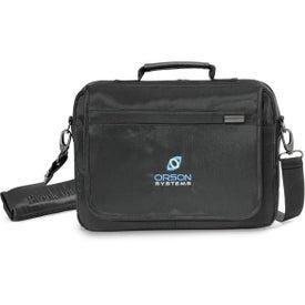 "Brookstone Slim 13"" Computer Messenger Bag for Marketing"