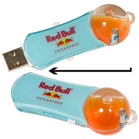 Bubble Memory Stick 2.0 - with Your Slogan