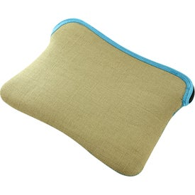 Burlap-Neoprene Kappotto Sleeve for iPad