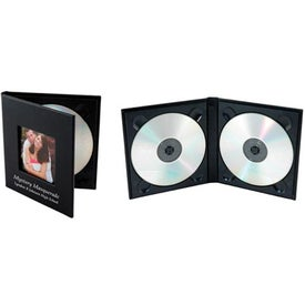 Customized CD/DVD Cameo Cover Folio
