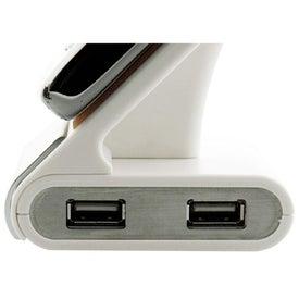 Cell Phone Holder/USB Hub for Advertising