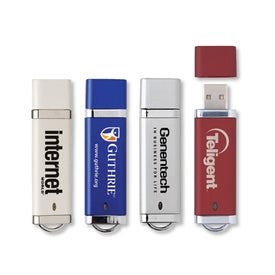 Chrome USB Flash Drive (128 MB)