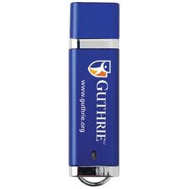 Printed Chrome USB Flash Drive